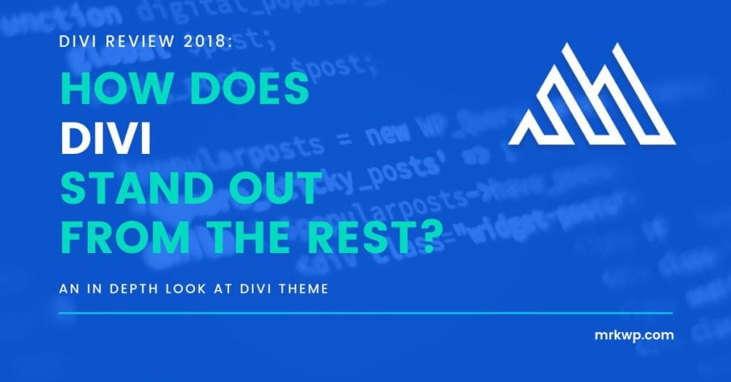 divi review 2018