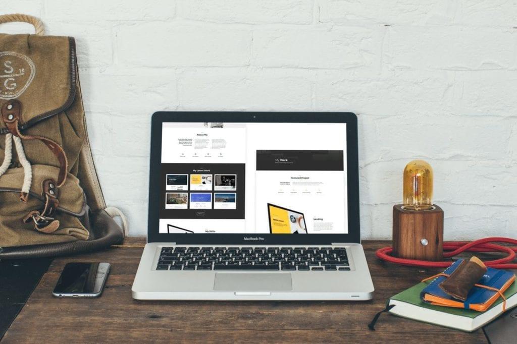 Freelancer Free Divi Layout