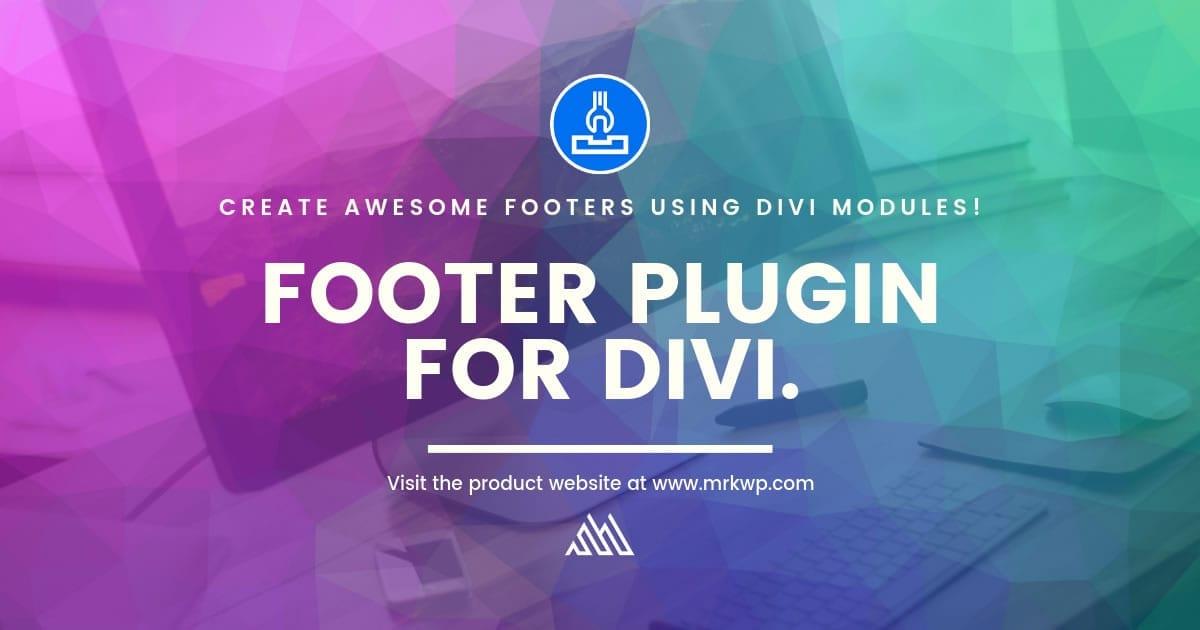 Footer Plugin for Divi