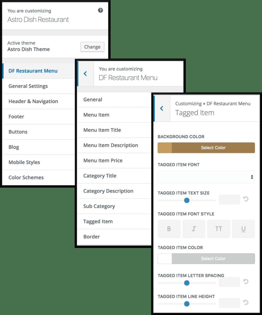 Tag Design Options
