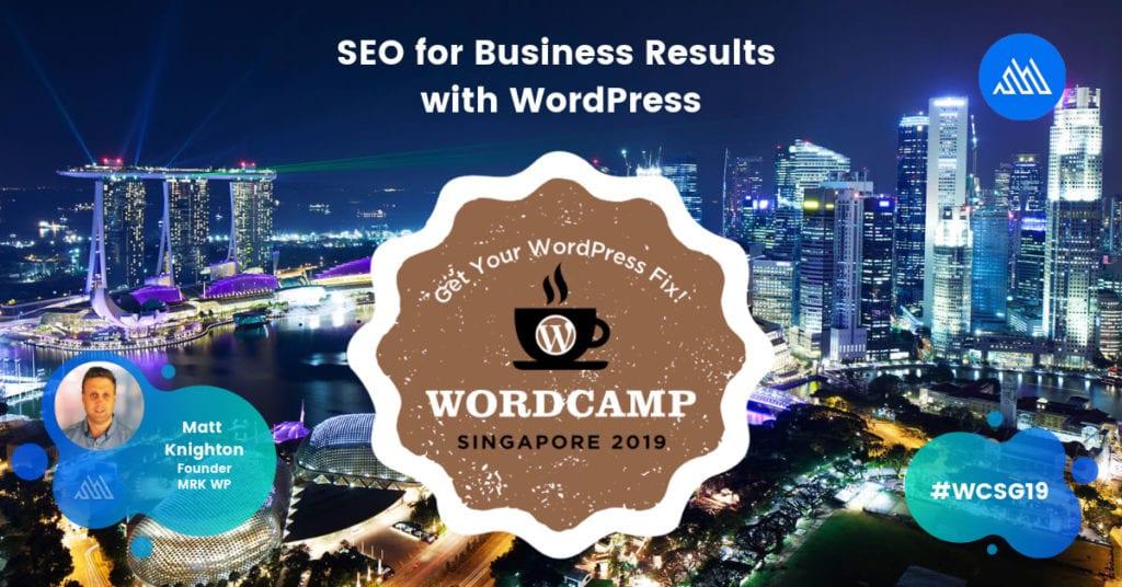 WordCamp Singapore 2019 #WCSG19