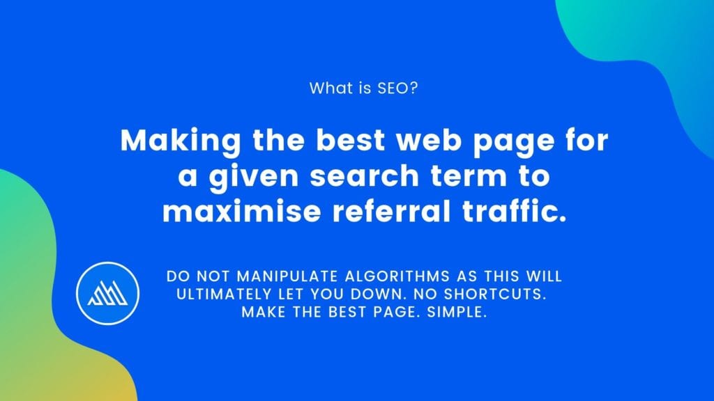 Making the best web page