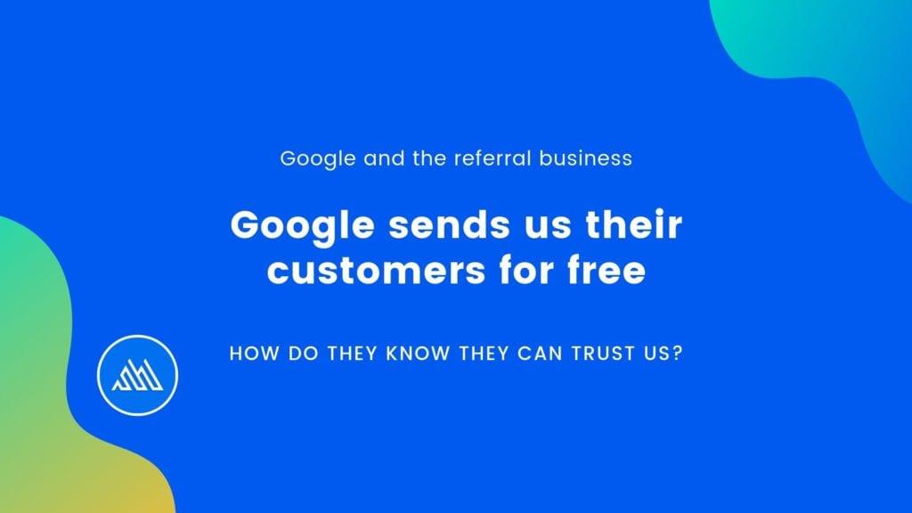 Google sends us traffic for free