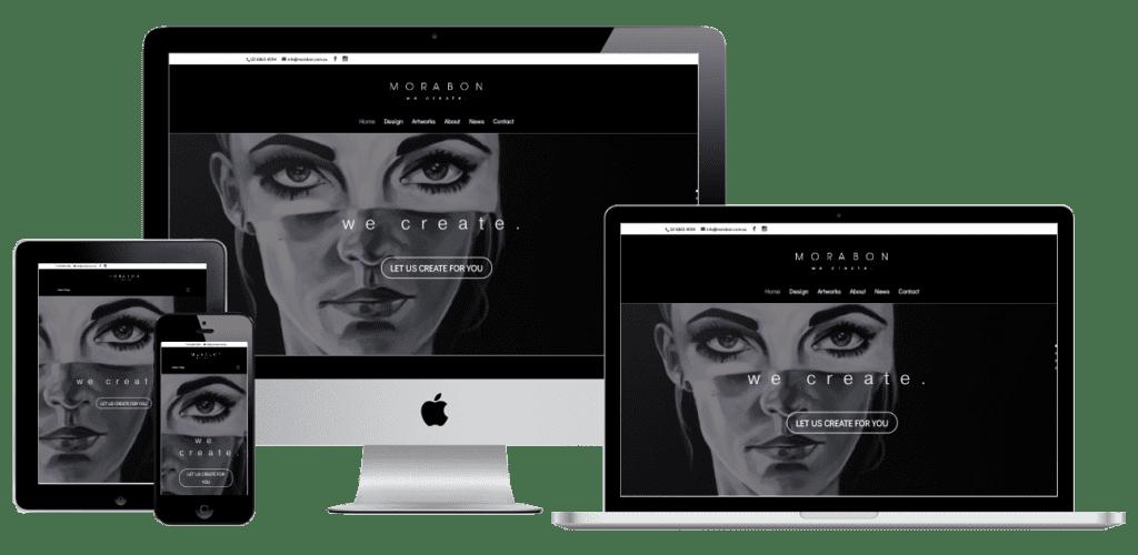 Morabon Website Design
